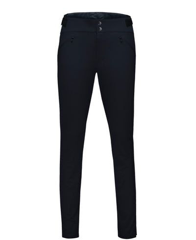 Black stretch pants by Norrona for women