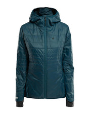 Primaloft coat by 8848 for women in teal