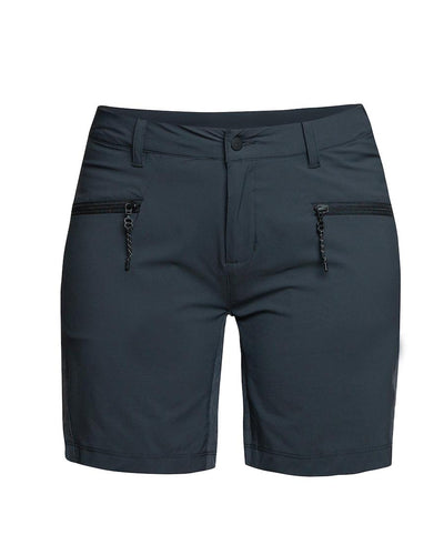 Charcoal colored hiking shorts for women by 8848