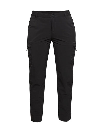 Black hiking pants for women by 8848