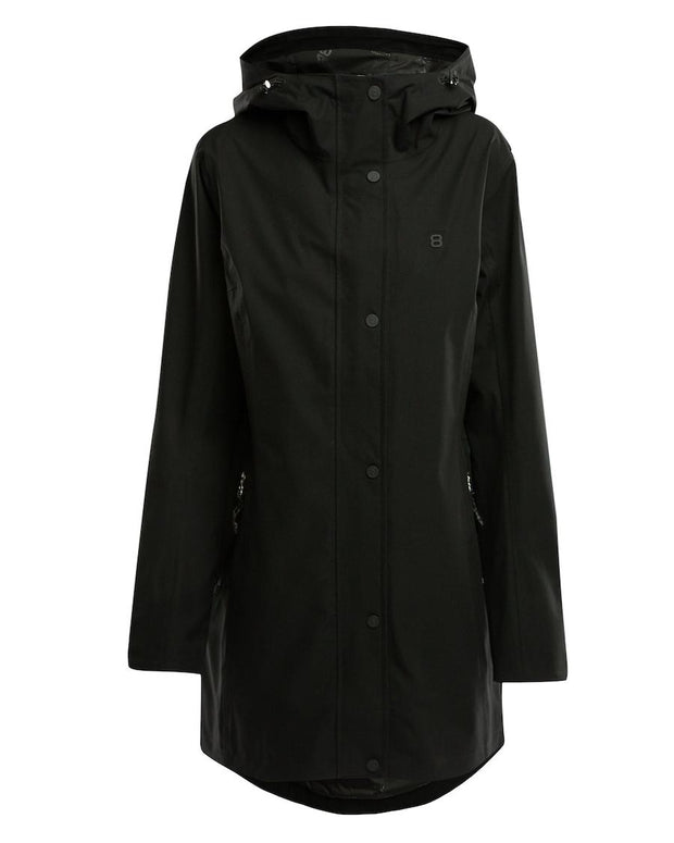 Black Rain Coat for women by 8848