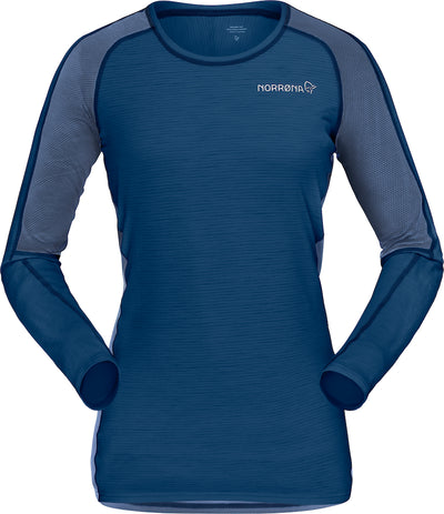 LOng sleeve wool shirt for women by Norrona