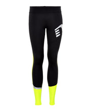 women's visio tights by newline for aktiv scandinavian running clothes front view