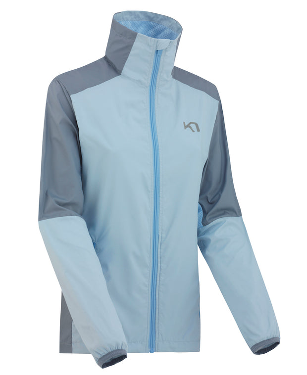 Nora Training Jacket in Cloud Blue by Kari Traa of Norway Front view