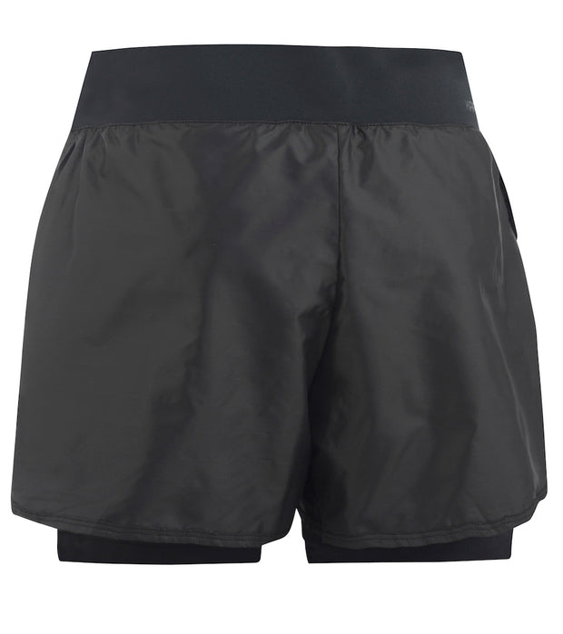 Rear View Sigurn Shorts in Black with liner for women by Kari Traa for Aktiv