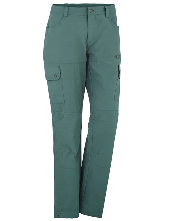 Ivy green hiking pants by Kari Traa