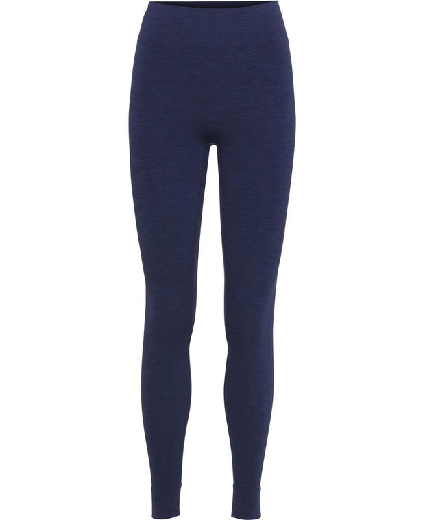 aura blue seamless leggings by moonchild yoga wear for aktiv scandinavian athleisure front view