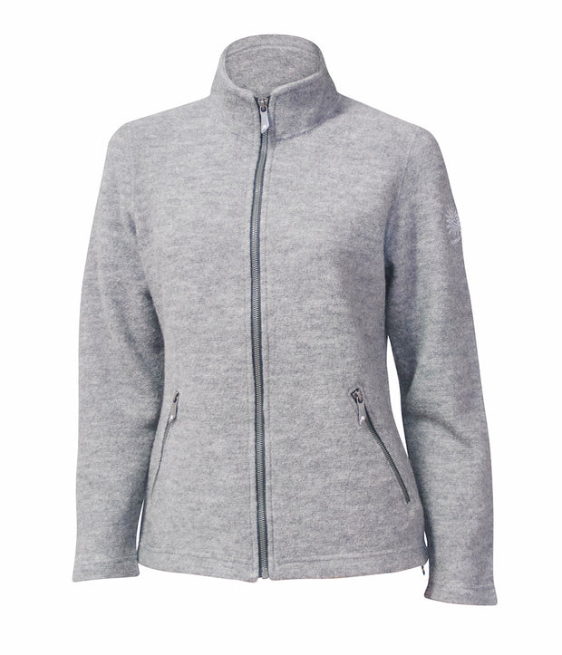 Bella Full Zip Light Sweater Womens