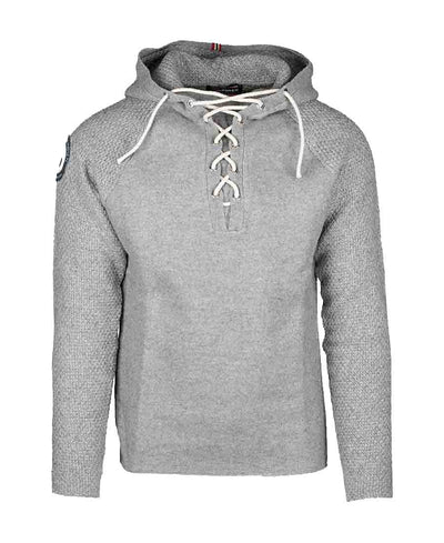 boiled hoodie laced mens grey by amundsen sports for aktiv scandinavian outdoor wear