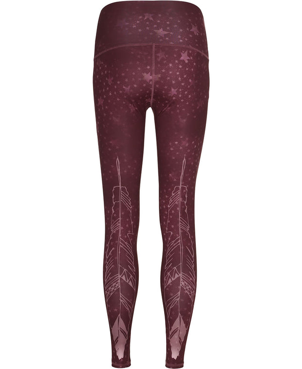 daybreak leggings by moonchild yoga wear for aktiv scandinavian athleisure back view