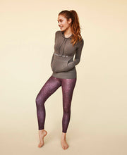 model posing in daybreak leggings by moonchild yoga wear for aktiv scandinavian athleisure