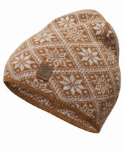 Amber Gold Norwegian Star Hat by Ivanhoe of Sweden for Aktiv Outdoor Use