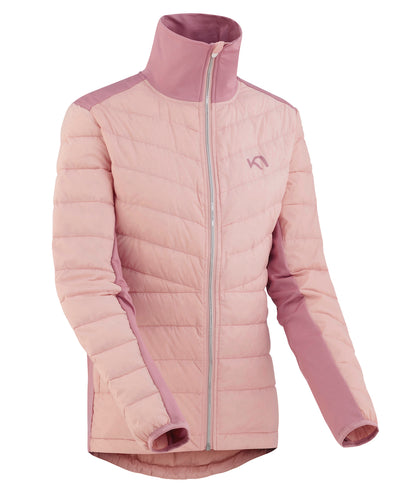 Eva Pale Pink Hybrid Jacket for layering