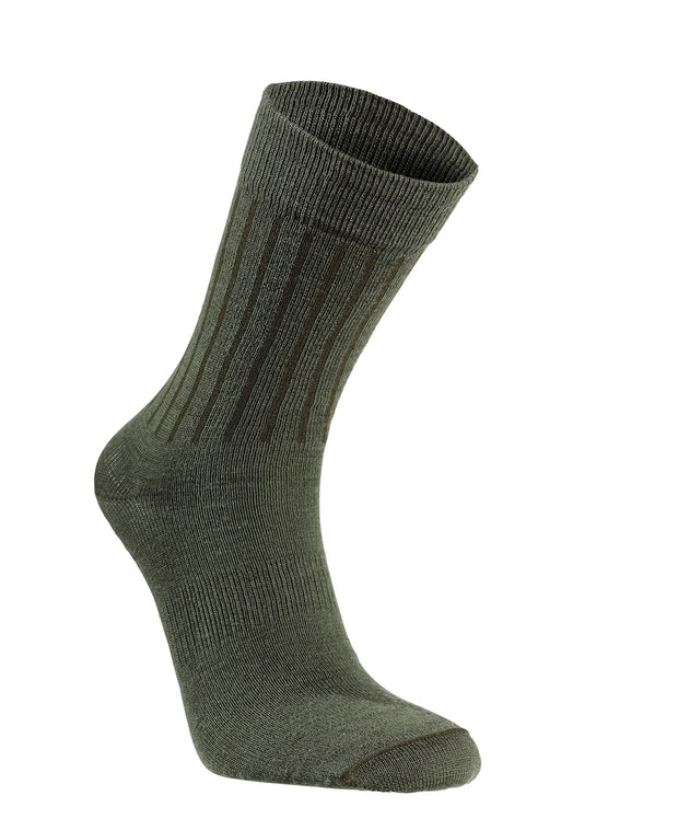 Forest Green Light Weight Scandinavian Everyday Sock by Seger for Aktiv Unisex