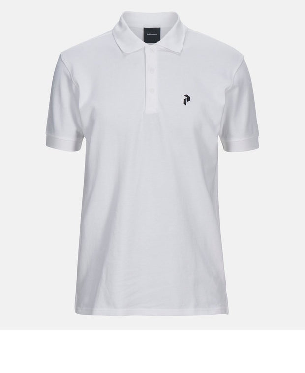White men's golf shirt