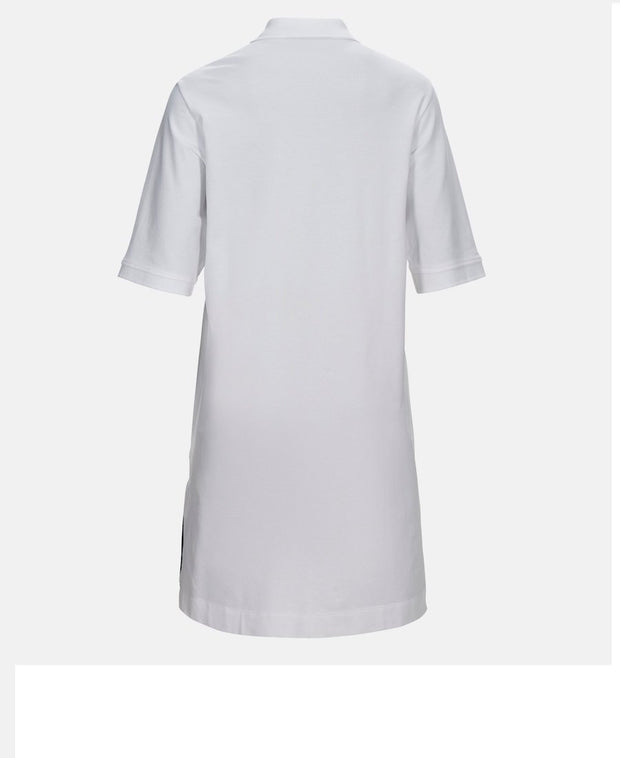 Women's Short-sleeved Polo Dress