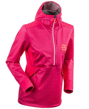 Pink womens ski coat by Bjorn Daehlie