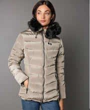 Women's Joline Ski Jacket on model with faux fur collar by 8848 Altitude for Aktiv Scandinavian Activewear