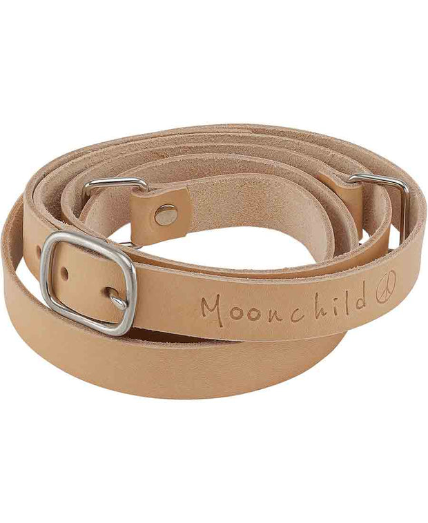 moonchild yoga wear leather yoga mat strap now available at aktiv