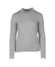 roalda roll neck sweater womens grey by amundsen sports for aktiv scandinavian outdoor wear