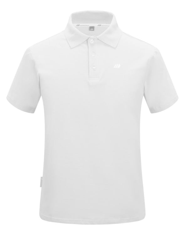 Men's White Polo Shirt