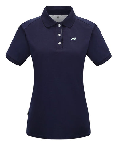 Navy Blue Women's Polo Shirt