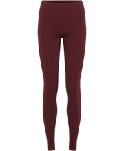 geranium red seamless leggings by moonchild yoga wear for aktiv scandinavian athleisure front view