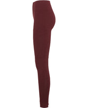 geranium red seamless leggings by moonchild yoga wear for aktiv scandinavian athleisure side view