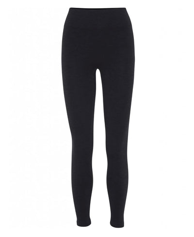7/8th Seamless Legging in Black for yoga and all Athletics front view