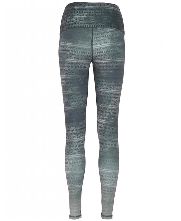 Silver Lining Full-Length Printed Leggings