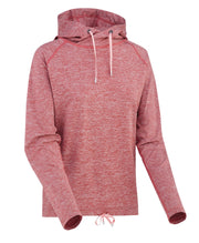 Womens pink hoodie with bow at the bottom by Kari Traa