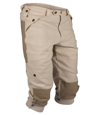 Vagabond Knickerbockers for men in Desert Sand by Amundsen Sports for Aktiv 3/4 frontview