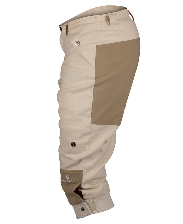 Vagabond Knickerbockers for men in Desert Sand by Amundsen Sports for Aktiv left sideview