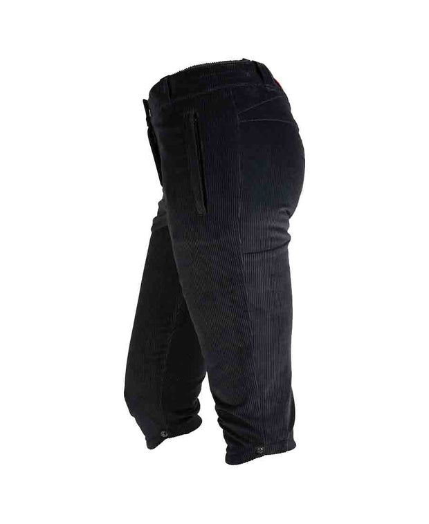 concord slim knickerbockers womens faded navy by amundsen sports for aktiv scandinavian outdoor wear side split view
