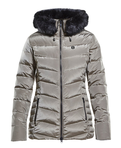 Women's Joline Ski Jacket with faux fur collar by 8848 Altitude for Aktiv Scandinavian Activewear