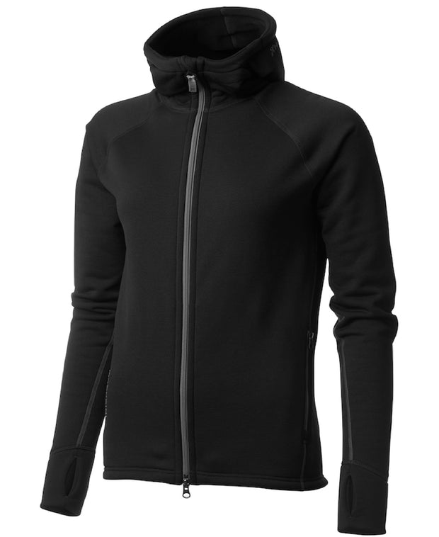 women's power houdie (zip-up hoodie) by houdini for aktiv scandinavian clothing and outdoor wear