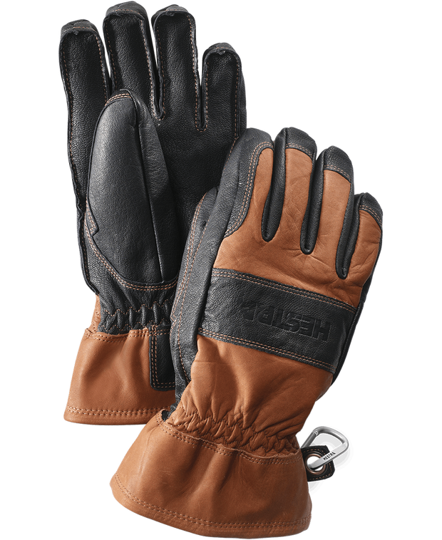 hestra falt guide gloves in brown black available at aktiv