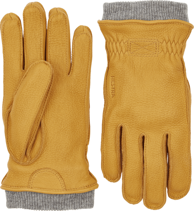 hestra malte gloves in natural yellow available at aktiv