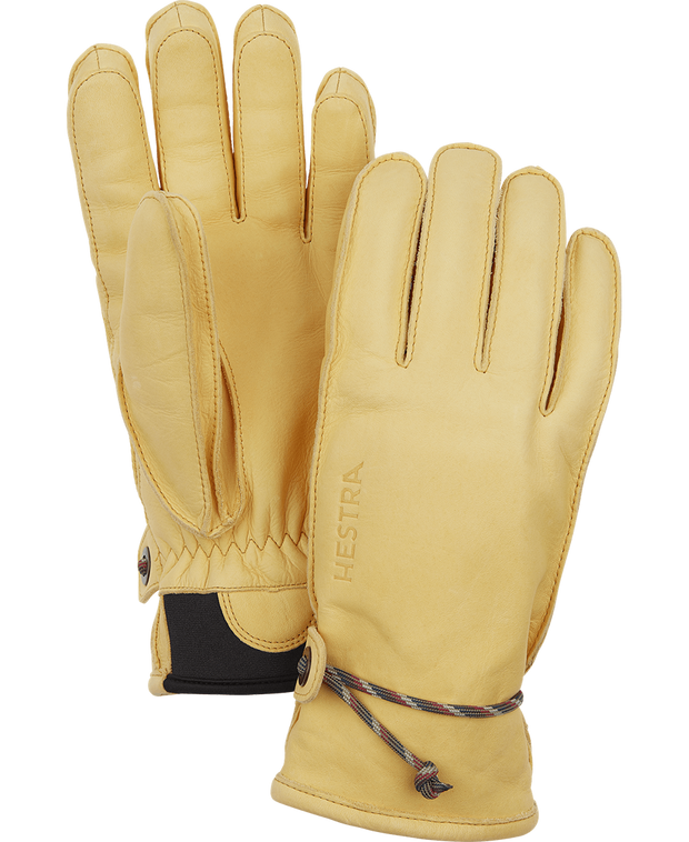 hestra wakayama gloves in natural brown available at aktiv
