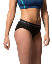 organic wool & silk panties by northern playground for aktiv scandinavian outdoor wear side view
