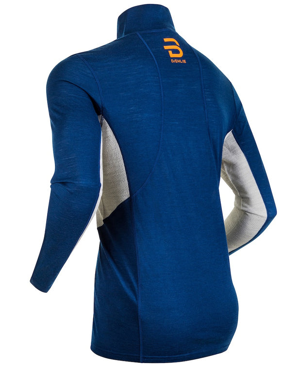 Training Wool Half Zip Men