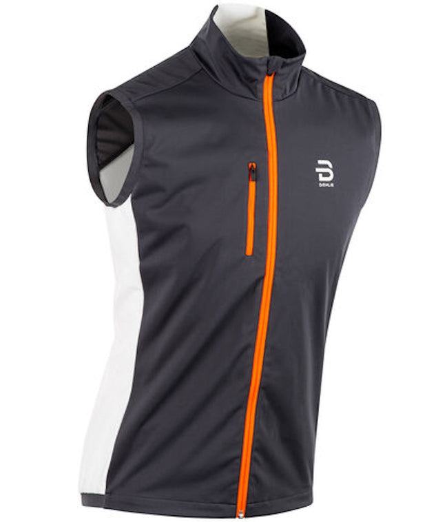 Running vest for men in blue with a white back by Daehlie