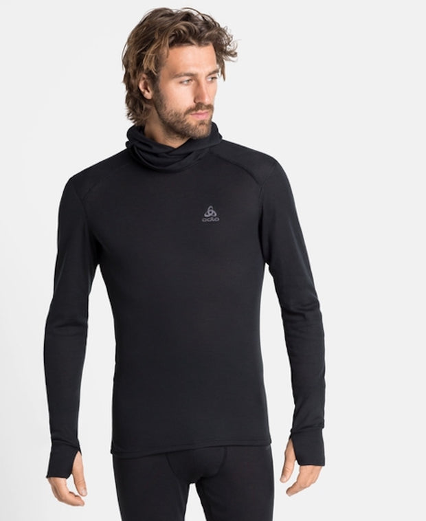 Active Warm Eco Baselayer with Face Mask Men