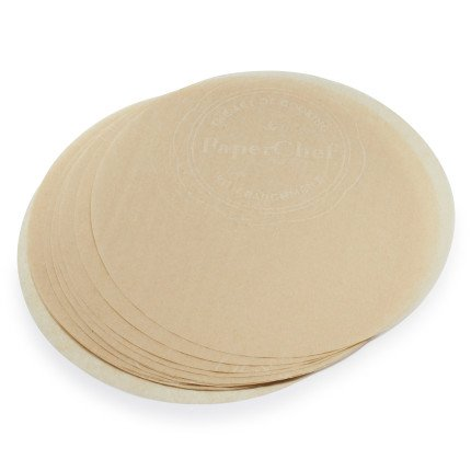 Paperchef Parchment Paper Rounds 1001032, Set Of 24, 9