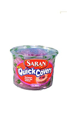 Saran Wrap Quick Covers 16 Count Small- Discontinued