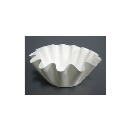 Small White Optima Brioche / Floret Baking Cup, 50 Pcs