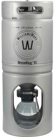 Williamswarn Brewkeg10 - 10 L (2.64 Gallon) Conical Unitank Fermenter
