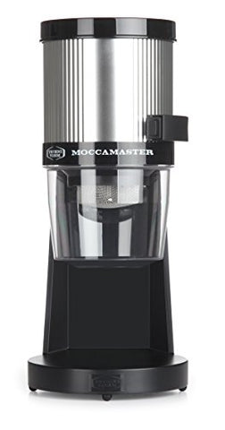 Moccamaster Km4 Tt Coffee Grinder, Polished Silver