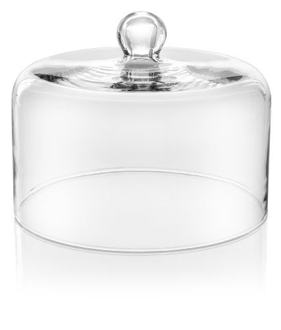 Ivv Glassware Cake Dome 10-1/4-Inch Diameter 7-1/2-Inch Height Le Campane 6975/1
