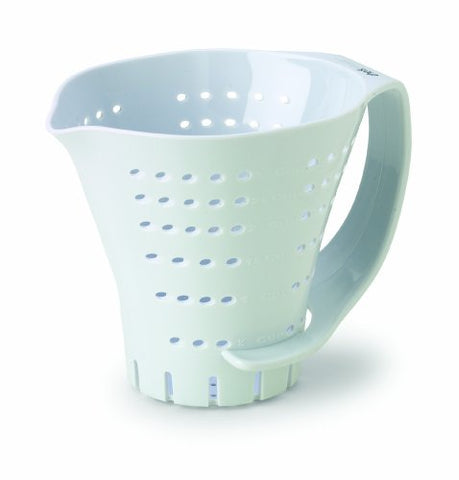 Chef'S Planet 3 Cup Measuring Colander, White